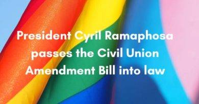 President Cyril Ramaphosa Passes the Civil Union Amendment Bill into Law