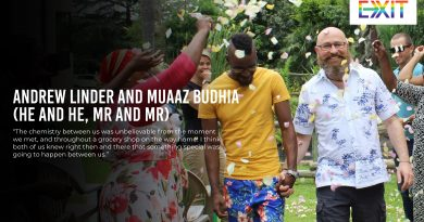 ANDREW LINDER AND MUAAZ BUDHIA (HE AND HE, MR AND MR)