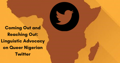 Queer Nigerians Using Twitter for Advocacy