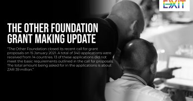 THE OTHER FOUNDATION GRANT-MAKING UPDATE